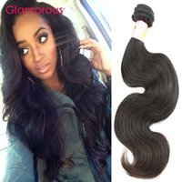 Wholesale Glamorous Body Wave Virgin Hair Bundles Natural Color inch Unprocessed Brazilian Malaysian Indian Peruvian Human Hair Weave for women