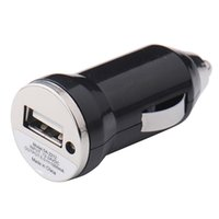 Wholesale Iphone Black Charger Colors - Wholesale- Car charger Adapter Cigarette Lighter for iphone 4 5 5s 5c 6 6s 6 Plus 1 usb port 1000mA 12V-24V Black 2016 3 Colors
