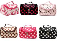 Wholesale Wholesale Leopard Clutches - Hot Sale 19 Colors Cheap Zipper Makeup Clutch Women's Travel Cosmetic Bag DHL Free Shipping Wholesale B007