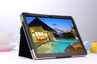 Wholesale Dual Core Resolution - New eight nuclear + 16 g + leather case + 10 inch android 4.4 tablet high-resolution retinal three 3 g   4 g telephony