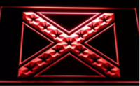 Wholesale Red Man Sign - Rebel Confederate Flag beer bar pub LED Neon Sign man cave