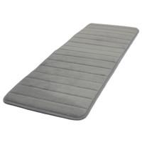 Wholesale Foam Kitchen Rugs - Wholesale- GSFY-120x40cm Absorbent Nonslip Memory Foam Kitchen Bedroom Door Floor Mat Rug Carpet Gray