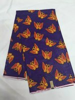 Wholesale High Quality Super Wax - 2017 High quality super wax hollandais african cotton real dutch prints wax fabrics for nigerian dress 6yards lot LRM06