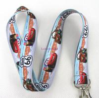Wholesale Mobile Phone Charm Keychain - 20 pcs popular Cartoon car 66 mobile Phone lanyard Keychain straps charms