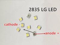 Wholesale Lg Tv Wholesale - 350PCS LG Innotek LED LED Backlight 1210 3528 2835 1W 100LM Cool white LCD Backlight for TV TV Application