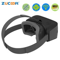 Compra 3d Virtual Display Video Glasses-Venta al por mayor-Todo en un casco VR gafas 3D Realidad virtual T08 Android película de vídeo de la caja WiFi Bluetooth 2560 * 1440 píxeles HD 5.5