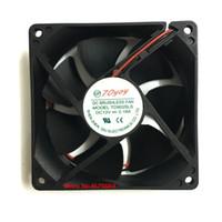 cojinete del ventilador 12v al por mayor-Al por mayor- 2pcs / lot Nuevo original TD9025LS 12V 0.16A 90mm * 90mm * 25mm cojinete hidráulico silencioso ventilador de refrigeración