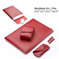 Stock En EE.UU. Soft Super Fiber manga bolsa para Apple Macbook Air Pro Retina 13