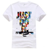 Wholesale New Fashion Brand T Shirt Global sales D Printed t shirts Men Summer Tops Tees Hip Hop Anime Male Tshirt