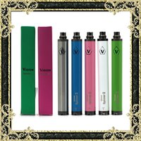Vision Spinner 2 Аккумуляторная электронная сигарета Vape Pen Vision Spinner II Батареи 1600mAh Fit 510 Thread Atomizers Классическая испарительная ручка