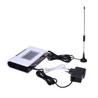 Wholesale Desktop Gsm Phones - GSM FWT fixed wireless terminal with LCD screen for connecting desktop phone and PBX or PABX, support Alarm System