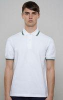 Wholesale Boys Designer Shorts - 2016 Italy Designer Summer Mens Polos Breathable Cotton Mens T-shirts Polo for Boys Sports T-Shirt Black Grey M-3XL