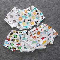 Wholesale Girl Children Knickers - Hooyi Summer Baby Shorts Pants 100% Cotton Infant Panties Baby Girls Knickers Boy Breeches Fashion Casual Children Harem Pant underpants