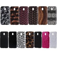 Wholesale Star Xperia - Wood Snake Leather Hard Plastic Case For Sony Xperia L1,Galaxy (J7 J3 J5)2017 European ,J7 Max,Star Carbon Fiber Skull Leopard Skin Cover