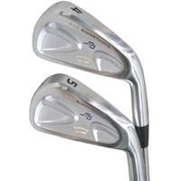 Wholesale Cb Golf - New mens Golf clubs MIURA CB 2007 Golf irons Set 4-9P 7pcs irons clubs Project X 5.0 Steel Golf shafts Free shipping