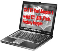 Wholesale Sis Cat - d630 laptop install ET 2017A and sis 2017.7 version + et flash+et factory keygen software with Real cat et adapter 3 free shipping