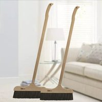 Wholesale Broom Handles - The sweep of real wood handle,Bristle broom,No pollution of static electricity dust removal the broom