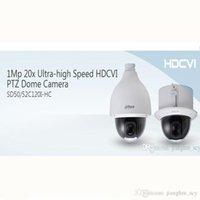 Wholesale Dahua Ptz - DAHUA IP67(outdoor), IK10, OSD 1 3 CMOS 1Mp 20x Ultra-high Speed HDCVI PTZ Dome Camera Original English Version without Logo SD52C120I-HC