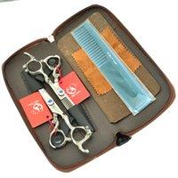 profesyonel saç kesme makası setleri toptan satış-6.0 Inç Meisha JP440C Saç Kesme + Inceltme Makası Ejderha Kolu Profesyonel Kuaförlük Makas Seti Kuaför Salonu Aracı, HA0280