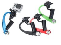 Wholesale Camera Steadicam - Bow Style Handheld Stabilizer Steady Steadicam Bow Shape Tripod for Action Camera Hero 5 4 3+ 3 2 1 Sj4000 Xiaomi Yi