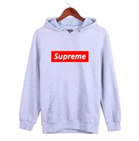 Wholesale Models Dresses Men - Wu Yifan models sweater with Euramerican tide Ripndip stussy brand couples dress coat and long sleeved winter male Hoodie Free shipping