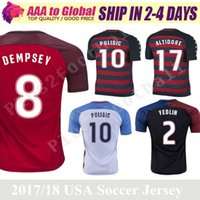 Wholesale Special Shirts - 2017 2018 USA national United States Gold Cup soccer jerseys DEMPSEY PULISIC DONOVAN BRADLEY ALTIDORE Special Jerseys football shirt
