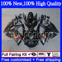 Wholesale motorcycles white fairings resale online - Gloss black Body Motorcycle For SUZUKI GSX R600 K6 GSX R750 GSXR MY21 GSX R600 GSXR750 GSXR GSXR600 Fairing