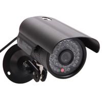 Wholesale Ntsc Cctv Camera - 1200TVL HD 6mm Lens IR Night Vision Outdoor Waterproof CCTV Security Camera