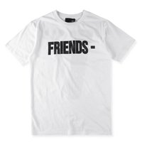 Wholesale VLONE FRIENDS T shirt COTTON MEN AND WOMEN Fashion HIP HOP Unisex Round Neck S XL