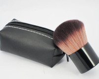 Wholesale 182 makeup brushes for sale - Group buy Makeup rouge brush blusher brush Leather bag M182