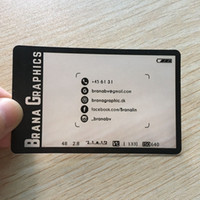 ingrosso plastica dura trasparente-200 pz / un disegno per biglietto da visita carta d'identità fabbrica personalizzata per carta di plastica opaca pvc trasparente carta dura