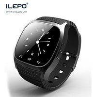 Wholesale Pedometers Cheap - cheap bluetooth watch M26 with touch screen vibration alarm bluetooth pedometer big battery long standby M26 multi-language support For men