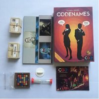 Wholesale Cards For Words - Newest Codenames Party Game Funny Games For Adults Social Word Game A Simple Promise And Challenging Game Trading Card Games CCA6634 12pcs