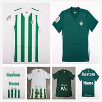 Wholesale Tony Short - Real Betis Soccer Jersey 6 Felipe Gutierrez 7 Musonda 8 Jonas Martin 9 Tony Sanabria 10 Dani Ceballos 11 Nahuel Football Shirt