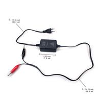 conecte a bateria 12v venda por atacado-Carregador de bateria da motocicleta ATV 12V esperto compacto Maintainer EUA ou UE Plug