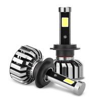 12 volt glühbirnen großhandel-Automobil führte helle Ausrüstungen N7 80W H1 H3 H7 880 H11 9005 9006 Auto-Scheinwerfer 12 Volt führte Auto-Glühlampen
