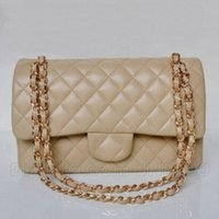 Wholesale Ladies Handbags Zippers - Hot Sale Classic Fashion Bags Women Handbag Bag Shoulder Bags Lady Small Golder Chains Totes Handbags Bags 5 Colors