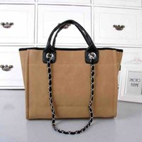 Wholesale Designer Handbags Retail - Hot Wholesale and retail womens totes bags famous brand shoulder bags canvas cloth luxury designer handbags tote bags purse 6 color for pick