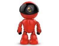 Wholesale wireless ip camera hd ir for sale - Group buy Maxde New Wireless Red Robot WIFI Camera IP P2P CCTV Cam Baby Monitor Surveillance HD H Lens IR for Android iOS