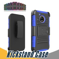 Wholesale G E Lights - For Asus Zenfone 2 2E Armor Case Shockproof with Kickstand 3 in 1 TPU+PC For Moto G3 G E2 Nexus6 G2 X2 E Amazon Fire Phone