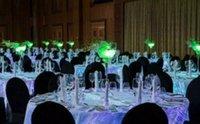 ingrosso stelle bianche decorazioni di natale-lusso incandescente decorazioni di nozze Tessili talbecloths RGB led luminoso tovaglia tessili per la casa 5 stelle hotel PARTY decorazione per Natale