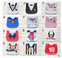Wholesale Cheap Baby Girl Bibs - New baby bibs & Burp Cloths Feeding baby clothes baby towels cottonBaby Accessories boys girls Waterproof bib Cheap z