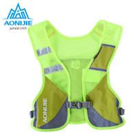 Wholesale Cycling Gear For Women - Wholesale- AONIJIE Marathon Reflective Vest Bag Sport Running Cycling Bag for Women Men Safety Gear
