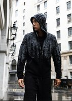 Wholesale Athletics Jacket - 2017 autumn and winter new MEN'S ATHLETICS Z.N.E. PULSE KNIT HOODIE fashion leisure sports suit running fitness jacket hoodie coat
