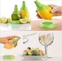 Wholesale Citrus Sprays - 2Pcs set Kitchen Gadgets Lemon Orange Sprayer Fruit Juice Citrus Spray De Cocina Cozinha Cuisine gadget utensilio de cozinha LJJY67