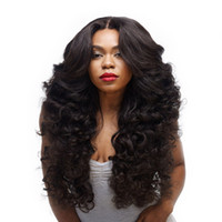 Wholesale Long Curly Synthetic Hair Wigs - WoodFestival women wigs natural cheap hair wigs curly long synthetic wigs black wavy fiber heat resistant kinky curly wig cosplay
