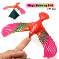 Wholesale Eagle Balance - Wholesale-Free shipping Balance Eagle Bird Toy Magic Maintain Balance Home Office Fun Learning Gag Toy for Kid Gift High Quality