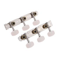 Wholesale Classical Tuners - High Quality 2pcs (Left + right) Classical Guitar Tuning Pegs Keys Tuner Machine Head Durable String Tuner