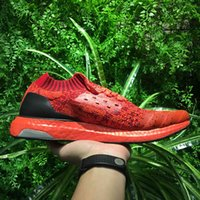 Wholesale Camping Earth - Ultra BOOST Uncaged,Comfortable Ultraboost Running Shoes Top Quality.The lightweight Triple White Black Mystery Red and Tech Earth Sneakers