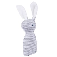 Wholesale Baby Cute Soft Animal Plush Hand Grap Toys Rattle Infant Baby Stripes Bunny Educational Gift Development Toys